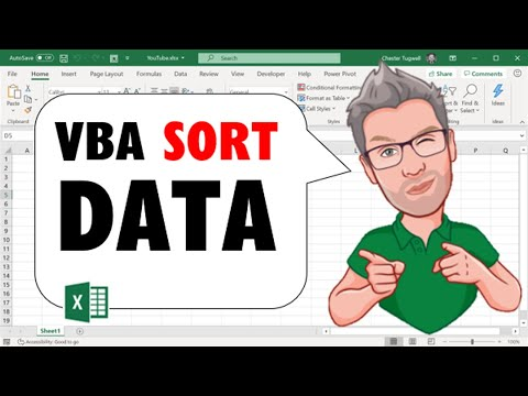 Excel VBA: How To Sort Data With VBA Macro