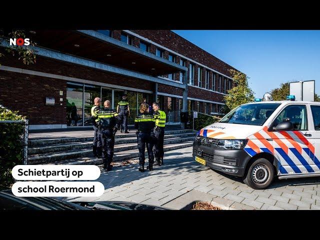 ROERMOND: Leerling (16) opgepakt na schietpartij op school