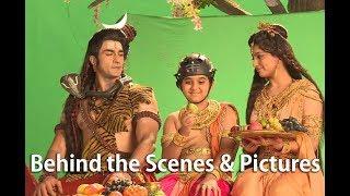 Suntv Vinayagar Serial Shooting Spot Behind the Scenes | Vighnaharta Ganesha On Location Pics