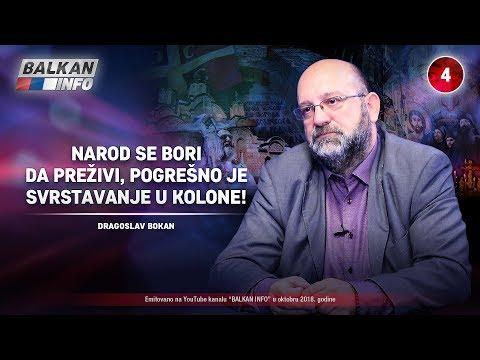 INTERVJU: Dragoslav Bokan - Narod se bori da preživi, pogrešno je svrstavanje u kolone! (10.10.2018)