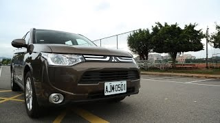 Mitsubishi Outlander FCM (主動式智慧煞車輔助系統)|實際測試