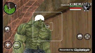 Hulk In GTA San Andreas Android