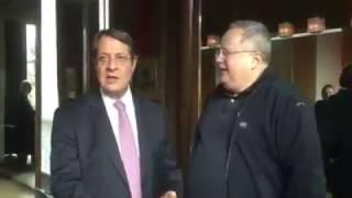 Κοτζιάς - Αναστασιάδης - Διάσκεψη Κυπριακό Γενεύη 13/01/2017