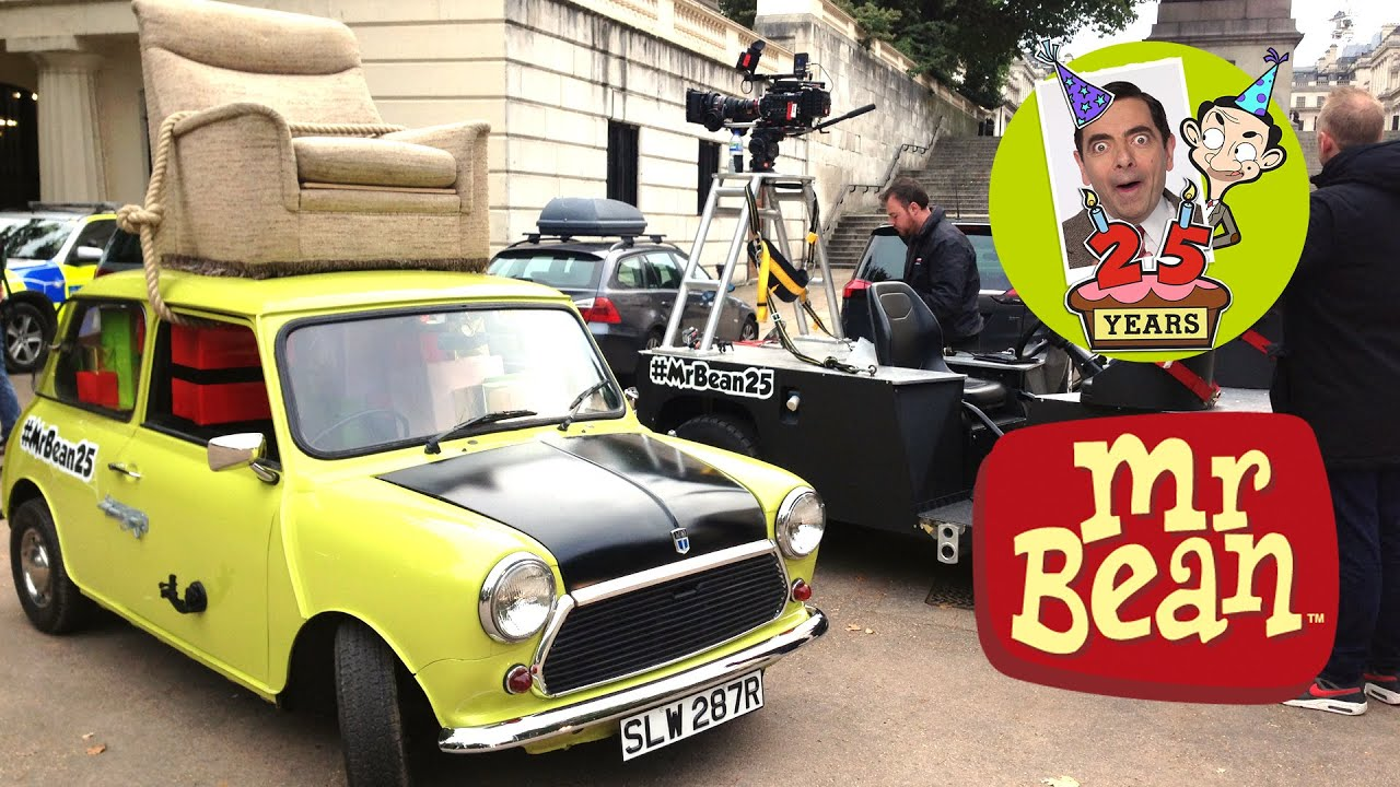 Mr bean 25th anniversary behind the scenes mr bean official mr bean 25th anniversary behind the scenes mr bean official youtube solutioingenieria Choice Image