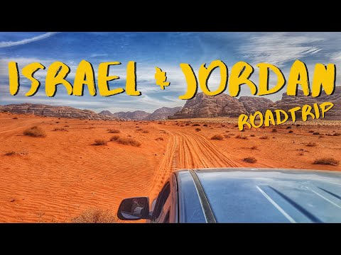 Israel and Jordan roadtrip  |  GoPro Travel Video