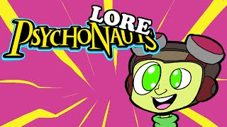 LORE – Psychonauts Lore in a Minute!