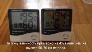 Цифровой термометр с гигрометром - обзор