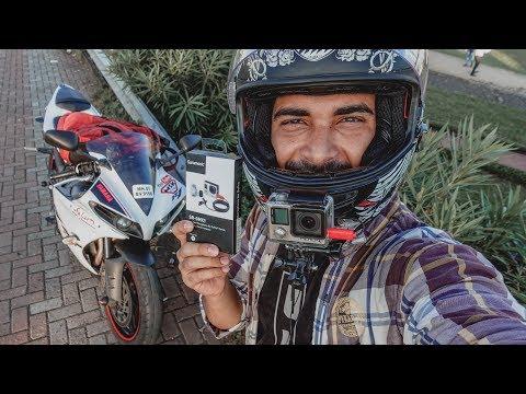 New Motovlogging Mic Test for Gopro Hero 4 | Yamaha R1