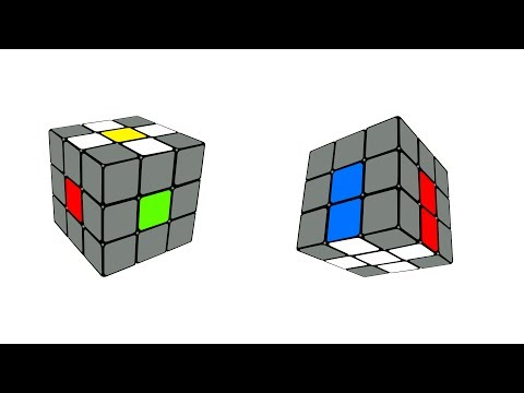 How to Solve the Rubik's Cube in 5 Steps: Step 1, Daisy and White Cross