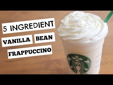 How to make a frappuccino with coffee ice cream