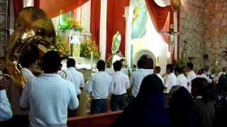 Mañanitas a la Virgen FIESTAS DE HUASCATO 2011