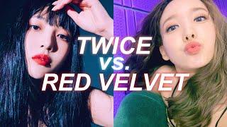 twice vs red velvet: DISCOGRAPHY BATTLE