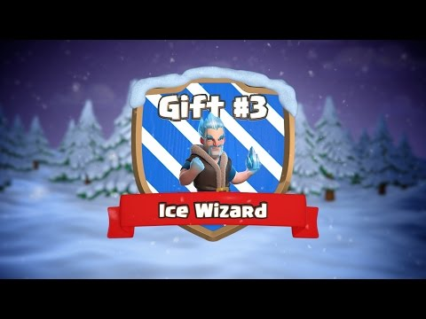 Thumbnail: Clash of Clans | Ice Wizard (Clashmas Gift #3)