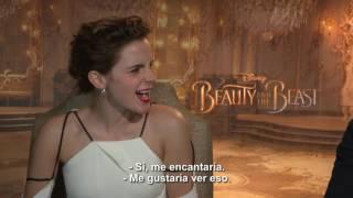 Emma Watson y Dan Stevens nos cuentan TODO sobre La Bella y la Bestia!