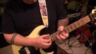 How to play And The Cradle Will Rock(GUITAR SOLO)by Van Halen on guitar by Mike Gross