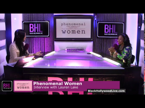 Phenomenal Women w/ Lauren Lake | September 26th, 2014 | Black Hollywood Live