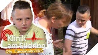 Extrem aggressiv seit 3 Wochen! Wieso prügelt Finn (11) auf alles ein? | Die Familienhelfer | SAT.1