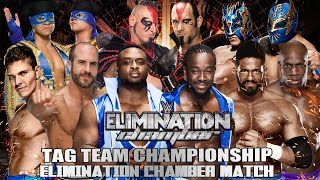 WWE Elimination Chamber 2015 - Elimination Chamber Match (Tag Team Titles) - WWE 2K15