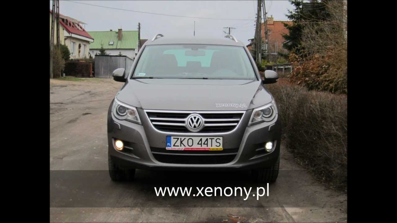 Volkswagen Tiguan LED DAYLIGHT DRL Hella - YouTube