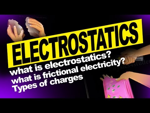 WHAT IS ELECTROSTATICS? : Introduction, Frictional Electricity, Kinds of Charges