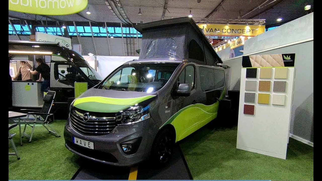 opel vivaro l2h1 camper womondo wave 540 new model 2018. Black Bedroom Furniture Sets. Home Design Ideas