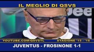 QSVS - I GOL DI JUVENTUS - FROSINONE 1-1 - TELELOMBARDIA / TOP CALCIO 24