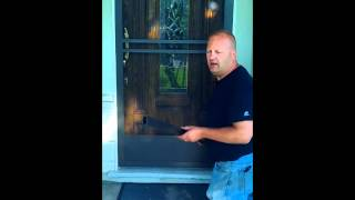 "How To Install A Screen Door...""james Knows"""