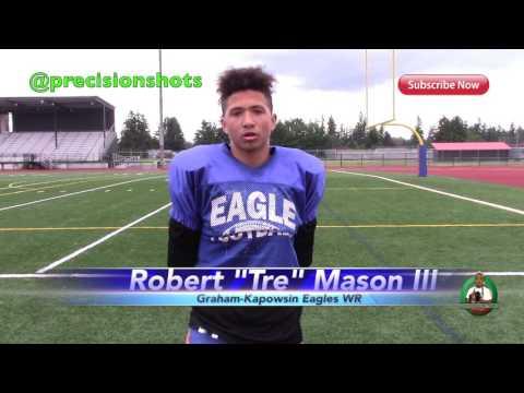 "PS Guest Of The Week Robert ""Tre"" Mason III Graham-Kapowsin WR 2017"