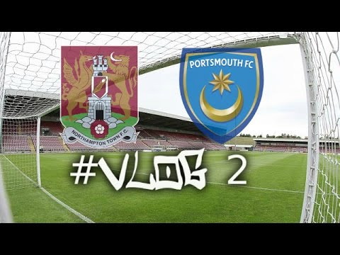 Match Day Football Vlog #2 | Northampton Town FC Vs Portsmouth FC - (19/12/15)