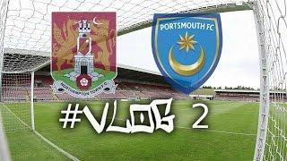 (#Match Day Football Vlog 2) | Northampton Town FC Vs Portsmouth FC - (19/12/15)