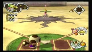 Mario Superstar Baseball Multiplayer - Game 3 - Yoshi Eggs @ Peach Roses