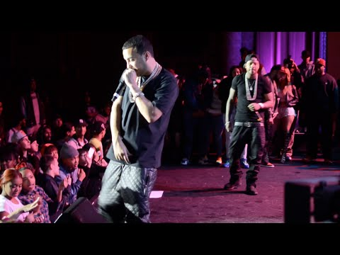 French Montana & Chinx Drugz Live Concert in Peekskill NY Shot by @TRIZCRU TV