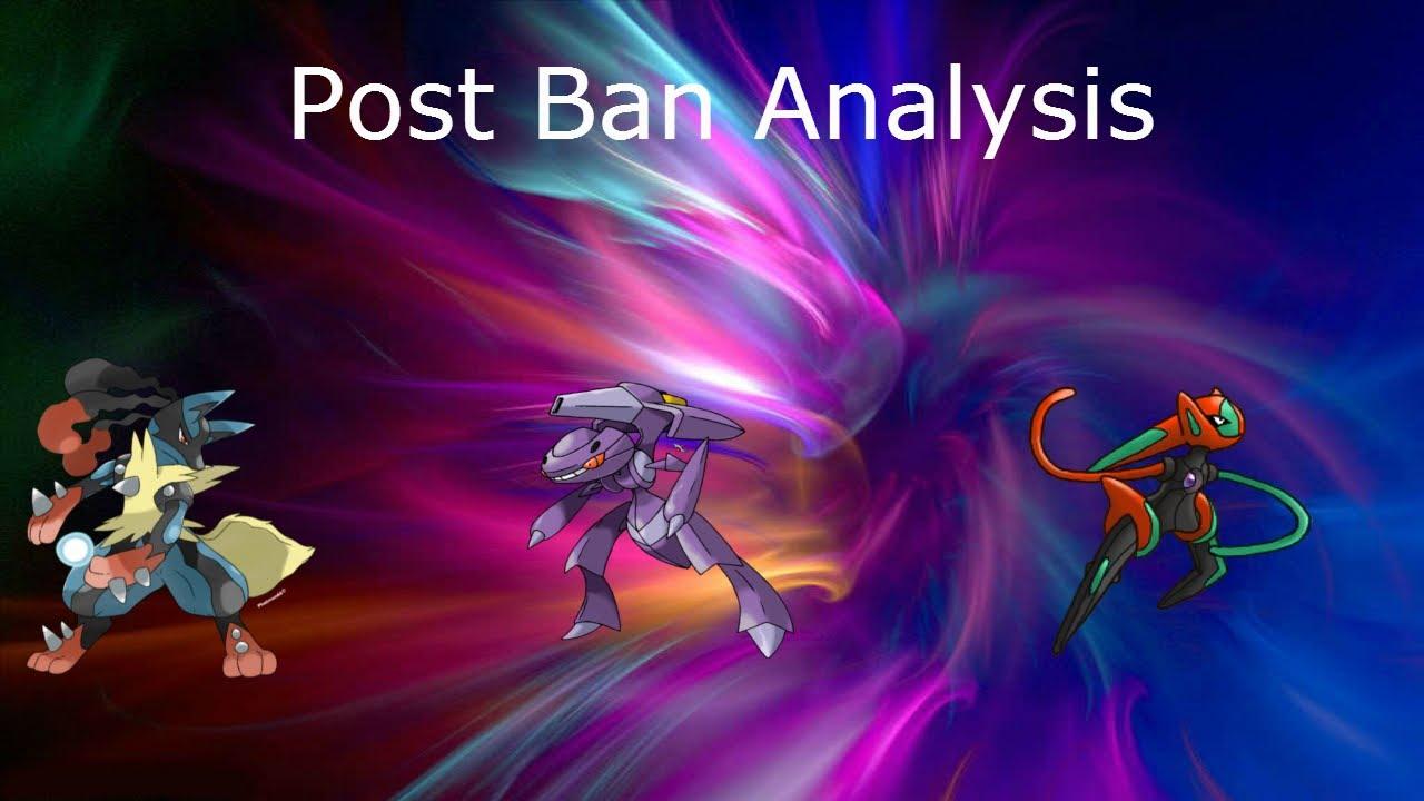 Post Ban Analysis-Mega Lucario, Genesect, Deoxys S - YouTube