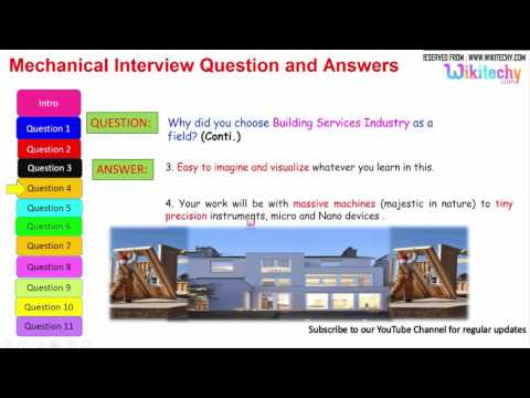 mechanical interview question and answers for freshers and