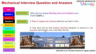 mechanical interview question and answers for freshers and experienced