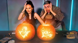 Why I CRIED meeting SIMONS PARENTS! (While carving pumpkins)