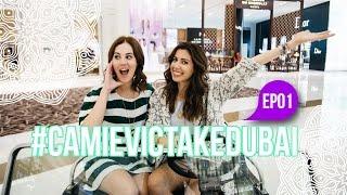 #CamieVicTakeDubai: EP01 - Aeroporto, Dubai Mall, Burj Khalifa e Al Mahara
