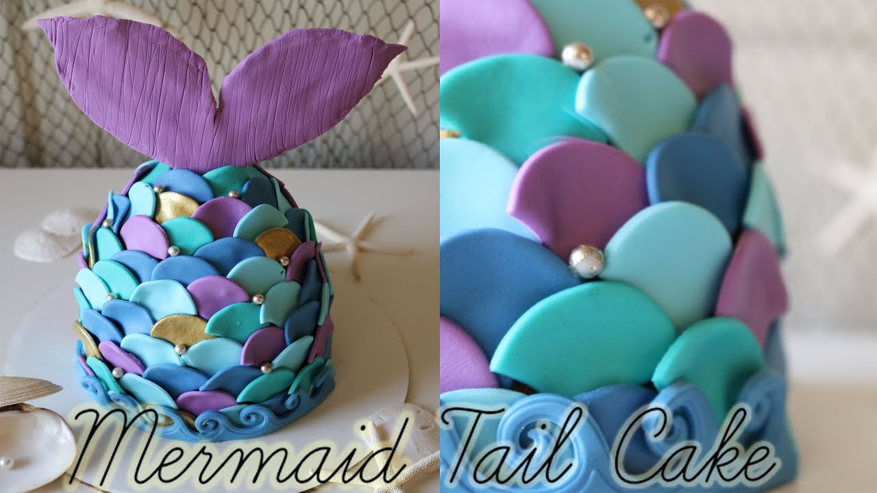 Mermaid Tail Cake YouTube