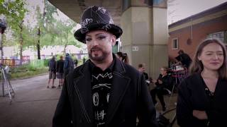 Boy George & Culture Club - Let Somebody Love You (Behind The Scenes)