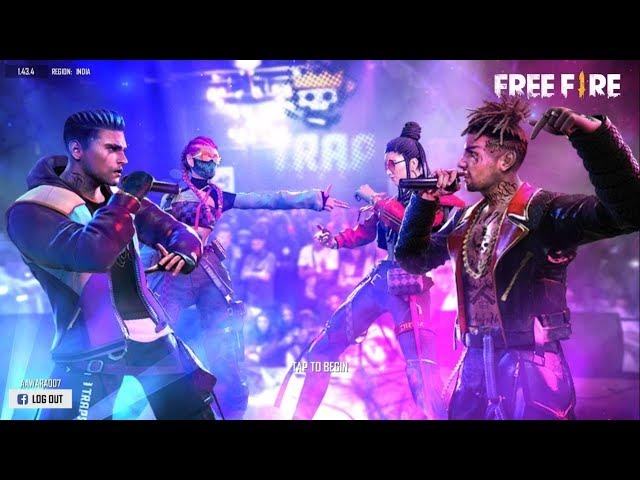 Free Fire Live Rush Gameplay With AAWARA007 - TEAM BFA