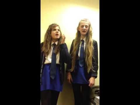 Girls singing 'waterfalls' stooshe