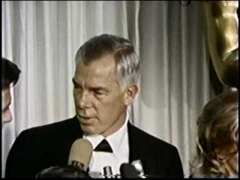 Lee Marvin & Julie Christie Academy Awards 1965