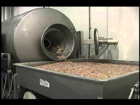 FPEC Corp. Tumbler Unloading
