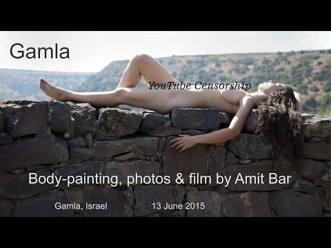 Gamla - nudes and body-paintings by Amit Bar