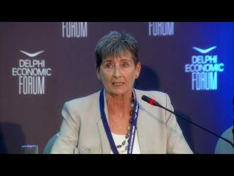 Sabina Dziurman   Delphi Economic Forum 2018