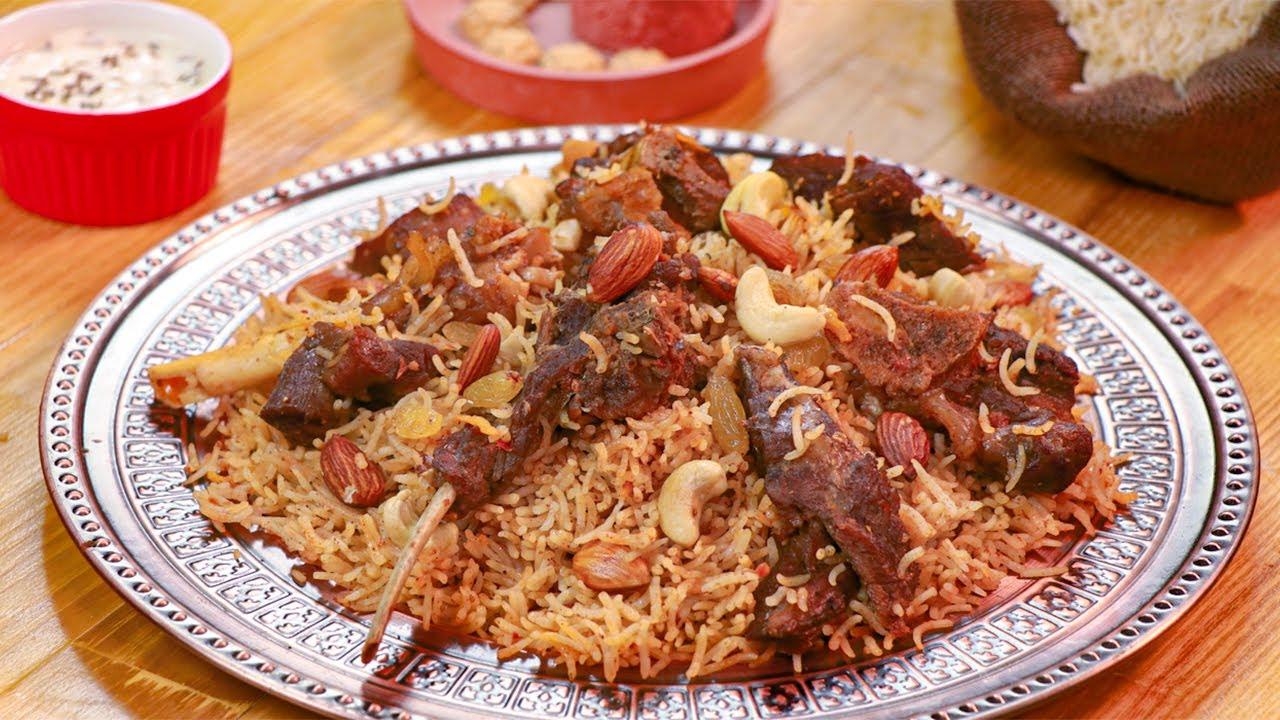 Mutton Kabsa Recipe By Sooperchef Youtube