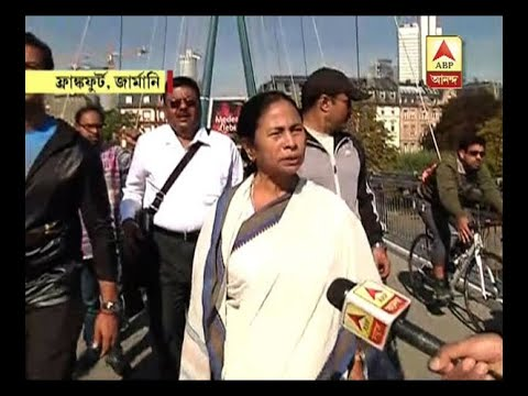 Mamata Banerjee exclusive interview from Frankfurt