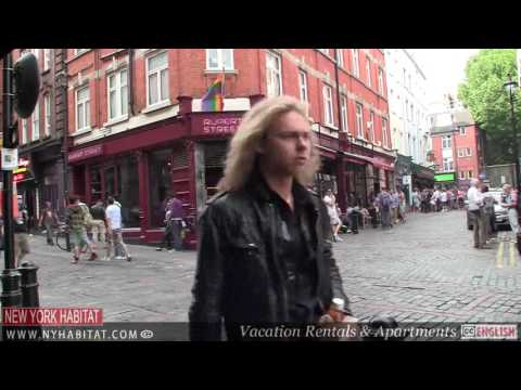 London Video Tour The West End Piccadilly Circus, Oxford Str