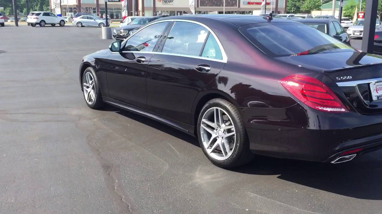 2017 Mercedes Benz S550 Sedan >> Ruby Black S550 from Vin Devers - YouTube