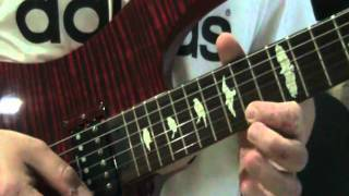 "How to Play ""Reaching For You"" (Lincoln Brewster Guitar Solo Lesson)"